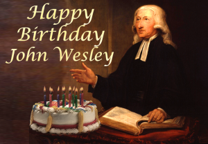 John Wesley Birthday